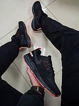 Мужские кроссовки Nike Child с оранжевой подошвой топ реплика, фото 3