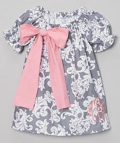 Дитяче плаття - Бавовна з вишивкою ініціалів
