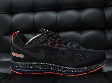 Мужские кроссовки Nike Child с оранжевой подошвой топ реплика, фото 2