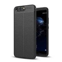 Для Huawei P10 Litchi Grain Drop Antiskid для защиты мобильного телефона Чёрный