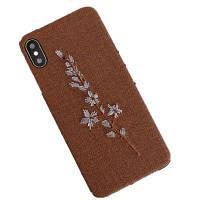 Защитная оболочка для защиты мобильного телефона для iPhone X Коричневый