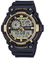 Мужские спортивные часы CASIO AEQ-200W-9AVEF