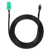 YKT-AB052 Вспомогательный аудио кабель для Renault S.A Чёрный и зелёный