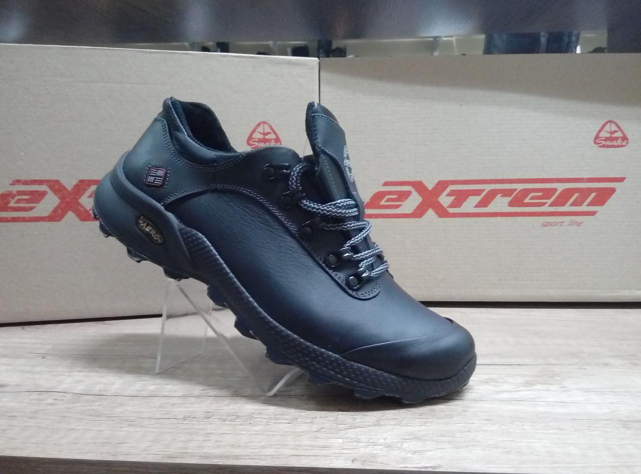 Мужские кроссовки из натуральной кожи ТМ EXTREM.