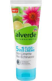 Alverde крем для ног Fußcreme 5in1