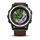 Garmin D2 Charlie Titanium Bezel with Leather and Silicone Bands, фото 6