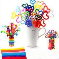 13 Color Bar Руководство Материал DIY Wool Tops Twist Wire 260 шт. Цветной