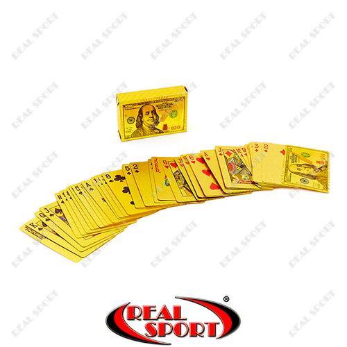Гральні карти золоті IG-4568