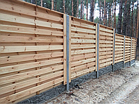 Деревянный забор в Харькове и области