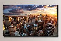 Картина HolstArt New York 2 88*54см арт.HAS-014