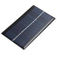 6В 1.5 W панели солнечных батарей DIY для сотового телефона батареи Чёрный