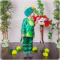 """Карнавальный детский костюм для мальчика """"Кузнечик"""" от 3-х до 7-ми лет"""