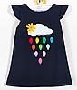 Детское платье  -  Хлопок с апликицией