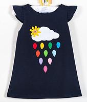 Детское платье  -  Хлопок с апликицией, фото 1