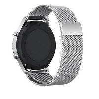 Браслет из нержавеющей стали миланский магнитный браслет для Samsung Gear S3 Серебристый