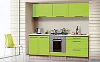 """Кухонная мебель """"Сона"""" лайм"""