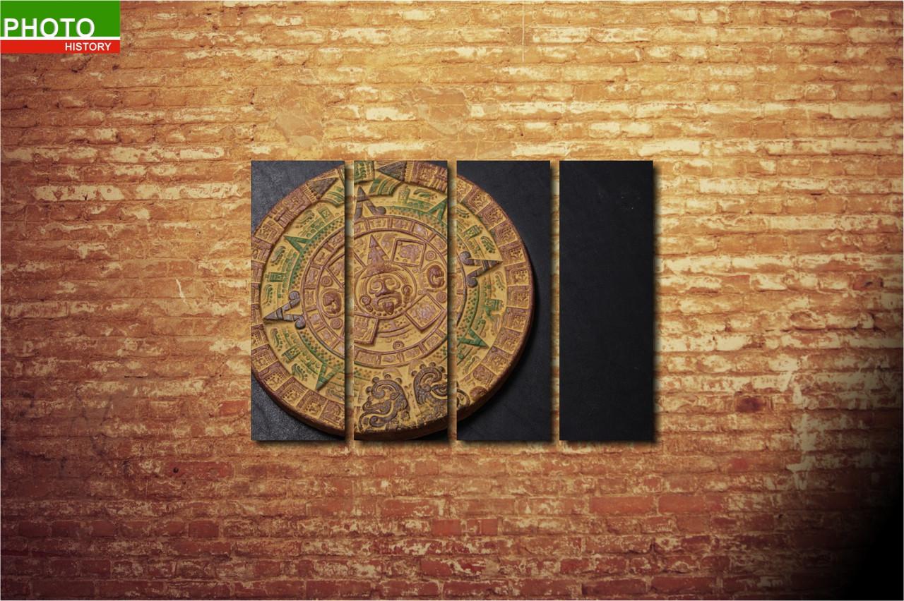 Модульная картина абстракция майа