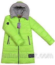 Зимние куртки и плащи для девочек модные