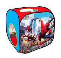 Детская игровая палатка M 3741 Человек-паук (Spider-Man), в форме куба