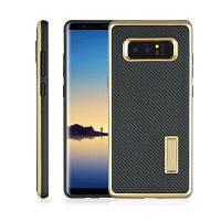 Сверхтонкий кронштейн из углеродного волокна Задняя крышка Корпус для мобильного телефона для Samsung Note 8 Золотой