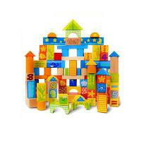 Детские игровые строительные блоки улучшают воображение Цветной