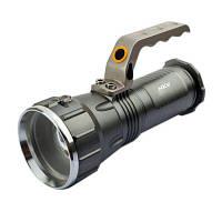HKV Яркий легкий светодиодный фонарик для кемпинга Открытый портативный фонарик ручной работы лампы Холодный белый свет