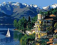 Картина по номерам ТМ Идейка Вдохновляющая Италия