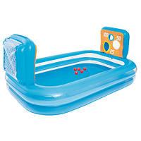 Детский надувной бассейн Bestway 54170, с игрой  237-152-94СМ
