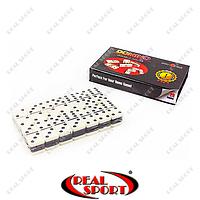 Домино настольная игра в картонной коробке IG-4010S (кости-пластик, h-3,8см, р-р кор. 16x9,5x2,5см)