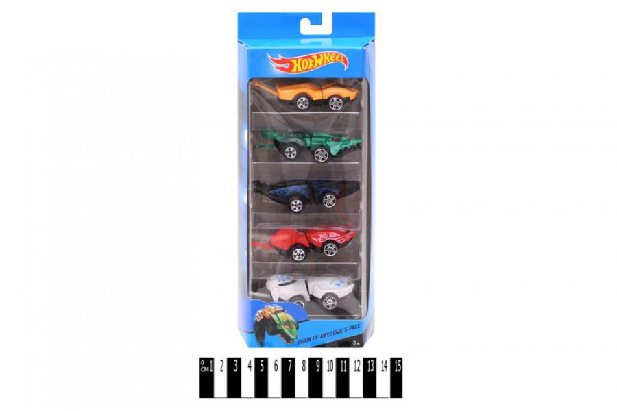 Набор машинок Hot Wheel, 5 авто в комплекте, хот вилс J572-5