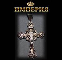 Крест мужской и женский серебряный 4,5 г