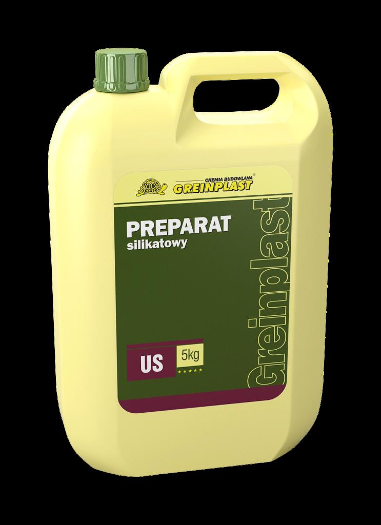 Силікатний препарат Greinplast US,  грунтовка для розведення силікатної фарби Грейнпласт