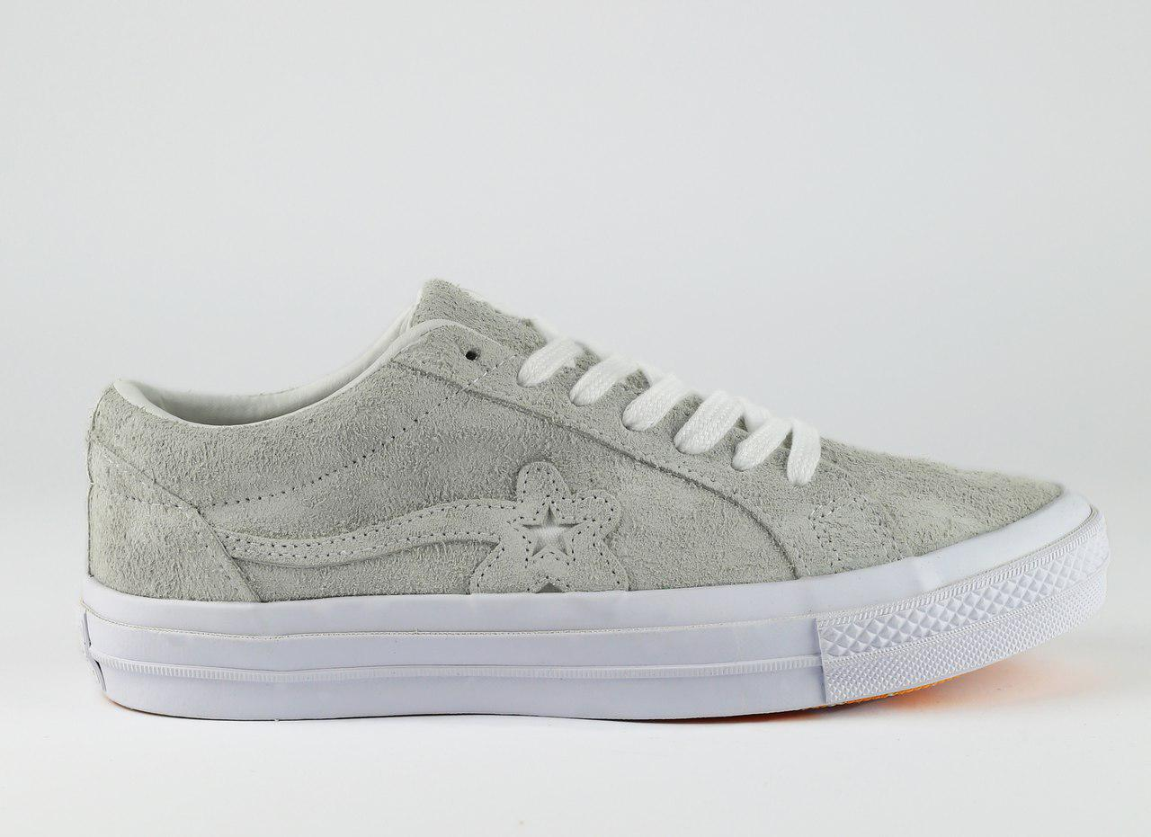 Женские кеды Converse x Tyler The Creator Golf le Fleur One Star OX, Серые, 605c4e6261c