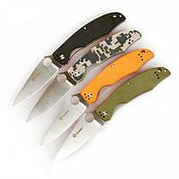 Нож Ganzo G729 (черный, зеленый, оранжевый, камуфляж) G729-BK