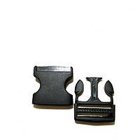 Застежка Фастекс черный (2.5см) Карабин В уп 50шт