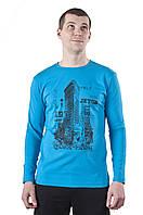 Модная футболка мужская с длинным рукавом Flatiron 1, фото 1