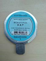 "Ароматизатор в машину Bath & Body Works  ""BEAUTIFUL DAY"""