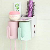 Аксессуары для ванной комнаты Насадка для зубной щетки Зубная паста для зубных патронов 2 чашки