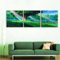Специальный дизайн безрамных картин Дерево мудрости Печать 3PCS 12 x 12 дюйма (30cм x 30cм)