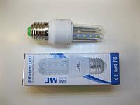 Светодиодная LED лампочка  E27 3W
