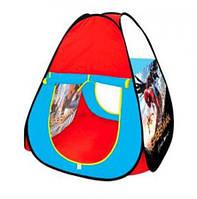 Детская игровая палатка M 3739 Человек-паук (Spider-Man), в форме пирамиды