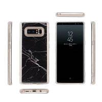 Гладкая защитная пленка для защиты от царапин Абразивная защитная крышка для защитного чехла для Samsung Galaxy Note 8 Чёрный