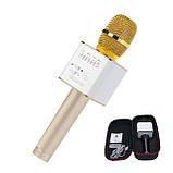 Микрофон караоке с подсветкой (цвета) YS68, фото 2