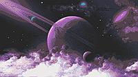 Схема для вышивки бисером Галактика