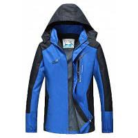 Мужская тонкая водонепроницаемая и износоустойчивая спортивная одежда с односкоростным сухим скалолазанием 4XL