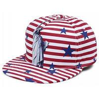 Наружная статуя Свободы Pattern украшения Бейсбол Hat Красный