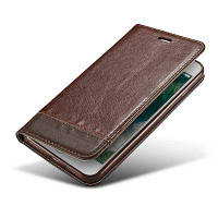Для iphone 8 Plus / 7 Plus Case Cover 5,5-дюймовый бизнес-люкс флип-кожаный кошелек для телефона