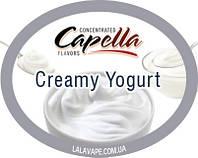Ароматизатор Capella Creamy Yogurt (Сливочный йогурт)