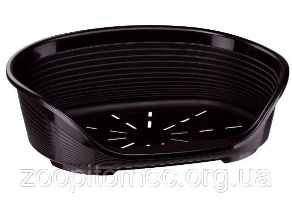 Ferplast Пластиковый лежак SIESTA DELUXE 12  BLACK