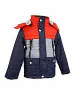 Модная демисезонная куртка для мальчика 3-6 лет.